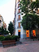 Lagasca street. Madrid, Spain.