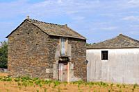 Traditional architecture. Lugo province. Galicia. Spain