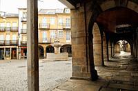 Plaza del Campo. Lugo. Galicia. Spain