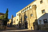 Jabalquinto palace, Antonio Machado Andalusian International University. Baeza, UNESCO World Heritage Site. Jaen province, Andalusia, Southern Spain E...