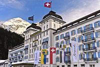 Grand Hotel des Bains Kempinski, St. Moritz, Grisons, Switzerland.