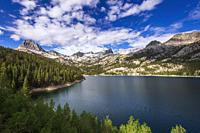 South Lake, John Muir Wilderness, Sierra Nevada Mountains, California USA.