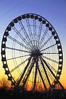 Canada, Quebec, Montreal, Ferris Wheel, Old Port,.