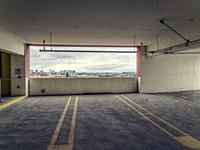 Parking lot. San Francisco. California. USA.