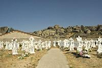 Graveyard of Nava del Barco, Gredos Natural Park, Central Range, province of Avila, Castilla y Leon Region, Spain