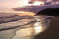 Europe, Spain, Gipuzkoa, Zarautz Beach,.