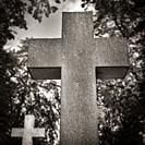 Brompton cemetery crosses.