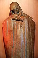Statue of Our Lady of Esperance by Heuvelmans. 1930. Our Lady of Hope church. Paris. Ile-de-France. France. Europe.