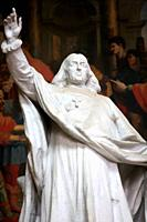 Monument of Jacques-Benigne Bossuet (1627-1704), bishop of Meaux from 1681 to 1704, by Ernest Henri Dubois (1863-1930), placed in the cathedral of Mea...