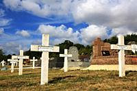 Commonweatlth war Graves. Commonweatlth war Graves. French military cemetery comprising 328 graves of Columeriens, English, Dutch and Africans who die...