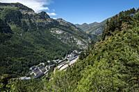 Canfranc, Aragon Valley, Jacetania, Huesca, Spain.