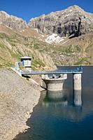Ip reservoir, Ip Valley, Jacetania, Huesca, Spain.
