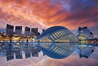 L´Hemispheric, Palacio de las Artes, Ciudad de las Artes y las Ciencias, Valencia, Comunidad Valenciana, España