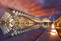 Museo de las Ciencias, Agora, Ciudad de las Artes y las Ciencias, Valencia, Comunidad Valenciana, España
