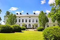 Jokioinen manor, built 1794-1798, one of the oldest and most significant neoclassical buildings in Finland. Listed as a Nationally significant built c...