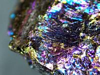Bornite, also known as peacock ore.