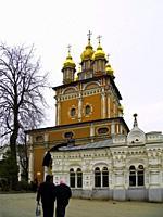 St. John the Baptist Church. The Holy Trinity - St. Sergius. Lavra. Monastery. . Sergiev Posad. Moscow region. . Russian Federation.