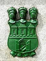 Coat of Arms of the City. . Prague. Czech Republic.