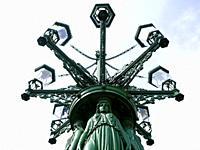 Lammpost. . The Castle Disttrict. . Prague. Czech Republic.