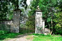 Ancient stone Gate