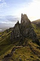 The old Man of Storr, is a rocky hill on the Trotternish peninsula of the Isle of Skye in Scotland. .