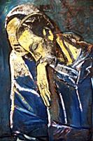 Pablo Picasso (1881-1973), Blue period, oil on canvas - Le couple ( Les Misérables) 1904, Fondation Pierre Gianadda, Martigny, Switzerland, Europe