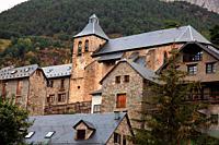 Sallent de Gállego in the Tena valley. Huesca.