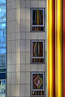 Moretti tower at Financial District of La Defense, Paris, France.