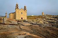 Sanctuary of Virxe da Barca in Muxia, A Coruña, Spain.