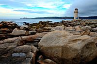 Lighthouse of Muxia, A Coruña, Spain.