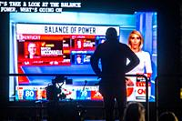Election Night 2020 in Washington DC.