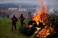 The Entrudo (or Shrovetide) festivities at Vila Boa (small village in Portugal's Trás-Os-Montes region), a traditional carnival celebration that dates...