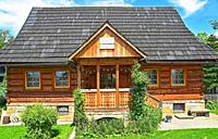 Historic house at Koscieliska street.