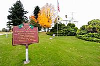 Warren G Harding birthplace 29th President of the United States near Blooming Grove Ohio OH.