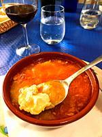 Castilian soup. Spain.