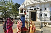 Koraput, India People visiting the Jagannath Temple in Koraput, Odisha, India.