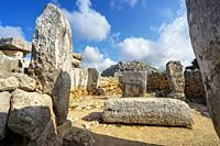 The talayotic village of Torre d´en Galmés, Menorca, Balearic Islands, Spain