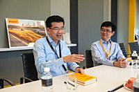 Singapore, Republic of Singapore, Asia - Portrait of Lo Kien Foh, Managing Director of the automotive supplier and tyre manufacturer at Continental Au...