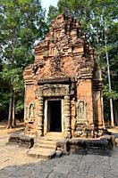 Preah Ko, 9th century. Hariharalaya (Roluos), Siem Reap, Cambodia.