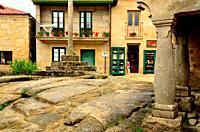 Old town of Combarro, Pontevedra, Spain.