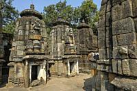 Ashtashambhu Shiva Temple in Bhubaneshwar, Odisha, India.