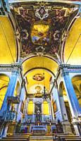 Church of Angel San Raphael Angelo San Raffaele Basilica Altar Venice Italy. Church completed 800 and most recently 1700s.