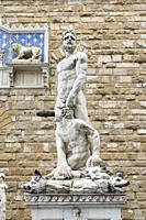 Statue of Hercules and Cacus, Piazza della Signoria, Florence, Italy.