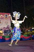 Traditional thai dance show, Chiang Mai, Thailand.