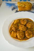 Meatballs serving. Spain.