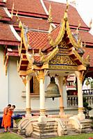 Chiang Mai, Wat Phra Singh (14th century). Thailand.