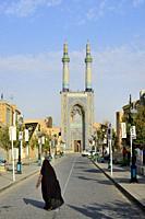 Iran, Yazd, Unesco World Heritage Site, Jameh mosque (Friday mosque).