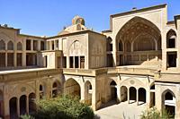 Iran, Kashan, Abbassian House (19th C).