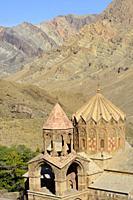 Iran, East Azerbaijan province, Jolfa region, Unesco World Heritage Site, Saint Stepanos monastery.