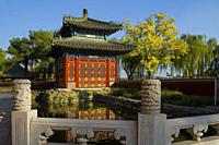 Temple of Extreme Happiness. Beihai Park. Beijing. China.